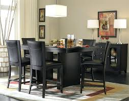 dining room set modern contemporary counter height dining sets elegant black dining set