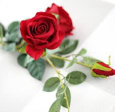 calm rose bouquet artificial flower arrangement real touch flowers