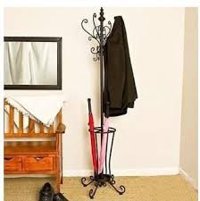 professional selling umbrella stand rack wrought iron metal coat