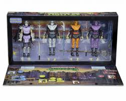 foot clan halloween costume sdcc exclusive tmnt arcade turtles and foot clan box sets video