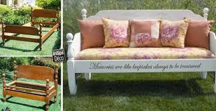 lit transformé en canapé transformer un vieux lit en un banc très design 13 exemples