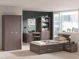 chambre enfant complète contemporaine chêne foncé robin chambre