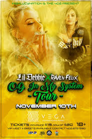 Movie Canopy by Lil Debbie U0026 Raven Felix At Vega Tickets In Lincoln Ne United States