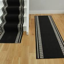 Wide Runner Rug Lovely Carpet Runners For Hallways By The Foot Black Color