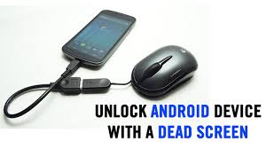 unlock android to unlock android device with cracked or broken screen