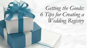 creating a wedding registry 6 tips for creating your wedding registry lakes region tent event