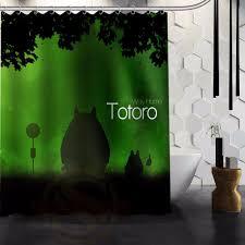 Totoro Home Decor by Online Get Cheap Bathroom Curtain Totoro Aliexpress Com Alibaba