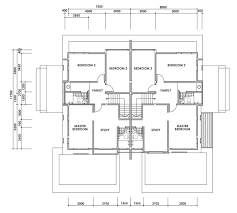single storey semi detached house floor plan curtin water 2012 double storey semi detached house myron type b