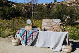 Wedding Venue Taglines Eclectic Edgy Malibu Mountain Wedding Green Wedding Shoes