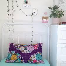 organic cotton pillowslip amethyst floral fiesta u2014 moonlit sleep