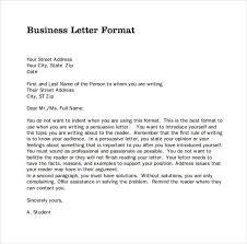 Business Letter Different Formats Business Letter Format Mla Resume Samples Find Different For Mla