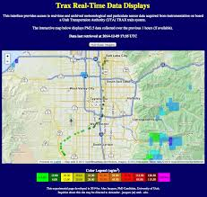 Utah Trax Map by Air Quality Researchers Use Trax To Collect Data Kuer 90 1