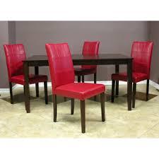 impressive red dining room table stunning dining room interior