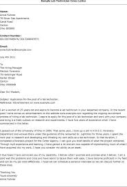 medical laboratory cover letter sample compudocs us