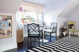 Girls Room That Have A Office Up Stairs | inside sue de chiara s gorgeous connecticut home that s full on fun