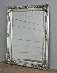 specchi con cornice specchio da parete rettangolare con cornice colorata in stile