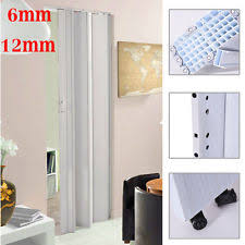 Pvc Room Divider by White Sliding Folding Door Pvc Room Divider Interior Utility
