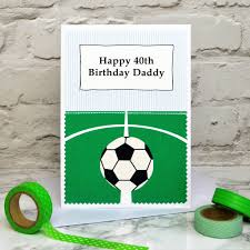 football u0027 personalised birthday card by jenny arnott cards u0026 gifts