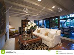 old fashioned living room in house royalty free stock photography