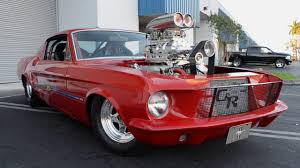 blower for mustang 1000hp 1967 s code ford mustang fastback prostreet blower car