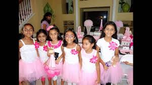 Birthday Decor Ideas At Home Barbie Themed Birthday Party At Home Ideas Youtube