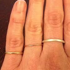 1mm wedding band thin wedding band 14k gold band 1mm ultra thin solid