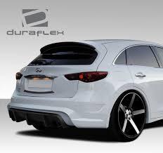 infiniti fx50 2017 infiniti fx35 fx50 qx70 duraflex ct r rear bumper cover 1 piece