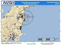 Fukushima Radiation Map June 30th 2011 U2013 Doe Response To Radiological Release