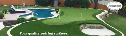 backyard mini golf course home outdoor decoration
