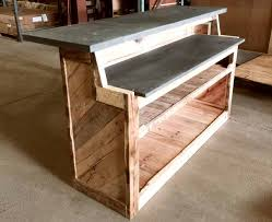 Industrial Looking Desk by Industrial Looking Bar Made Of Recycled Wood And Re Purposed