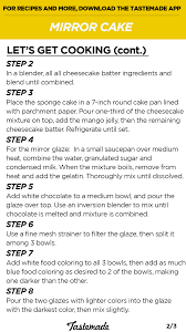 mirror cake recipe tastemade