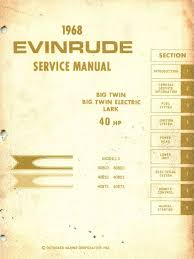1968 evinrude 40hp big twin service manual pdf battery