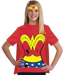 t shirts halloween amazon com justice league child u0027s wonder woman 100 cotton t