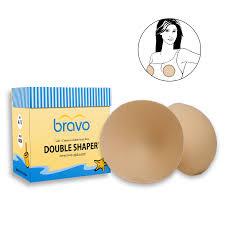 bravo double shaper bra pads bra u0026 swim shaper modesty covers