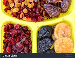 Container For Food Storage Dried Fruits Plastic Container Food Storage Stock Photo 250852369