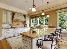 furniture white kitchen with white kitchen island and yellow