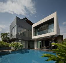 Modern Looking Houses Wallflower Architecture Dream House Singapore