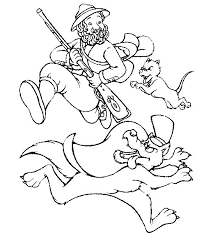 kids fun 17 coloring pages red riding hood