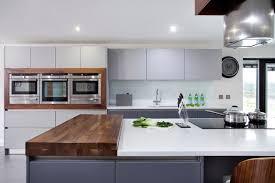 Walnut Kitchen Designs Walnut Grey Schuller Kitchen Contemporary Kitchen Other