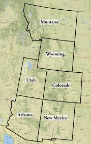 State Of New Mexico Map by New Mexico Report U2022 State Of The Rockies Colorado College