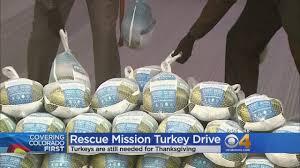denver rescue mission needs turkeys for thanksgiving