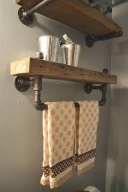 man cave bathroom ideas estantes de baño de madera reciclada granero por caseconcepts2000