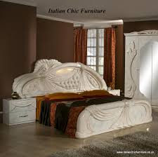 FREE DELIVERY UK Mainland OnlyItalian Chic Furniture The Gina - Set bedroom furniture uk