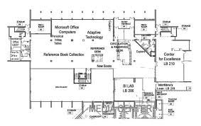 Computer Lab Floor Plan About The Library Library Butte College