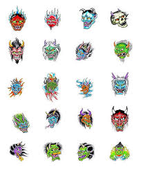 oni mask tattoos what do they oni mask tattoos designs