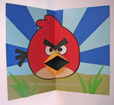 cards and papercrafting angry birds pop up card tutorial