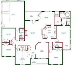 one storey house plans borderline genius one story home plans abpho