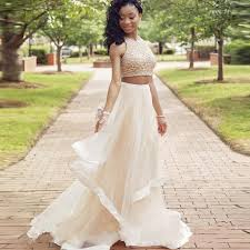 graduation dresses for high school new arrival prom dresses two pieces 2017 sparkly shiny