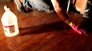 vinegar treatment on wood floors
