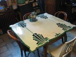Redo Kitchen Table by My Circa 1920s Enamel Topped Kitchen Table Bottom Legs Are Curved